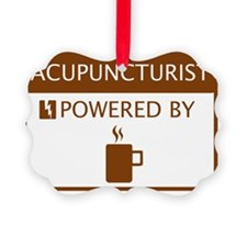 Acupuncturist Powered by Coffee Ornament