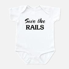 Save the RAILS Infant Bodysuit