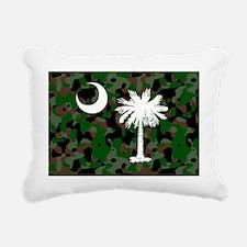 camo pillow case Rectangular Canvas Pillow