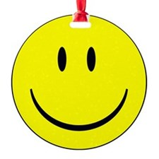 happy face - smiley Ornament