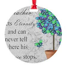 retired teacher blanket Ornament