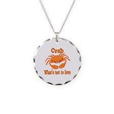 Crab to Love Necklace