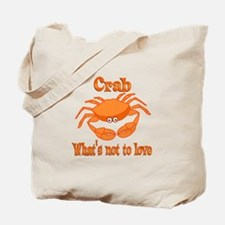 Crab to Love Tote Bag