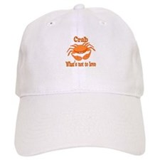 Crab to Love Baseball Cap