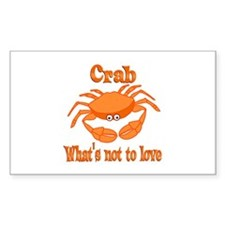 Crab to Love Decal