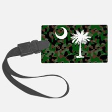 camo License Plate 12.125x6 Luggage Tag