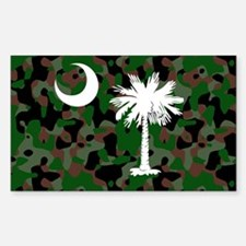 camo License Plate 12.125x6 Decal