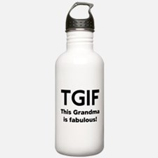 This Grandma Is Fabulous Water Bottle