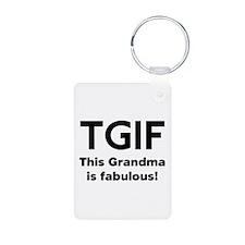 This Grandma Is Fabulous Keychains