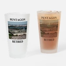Pentagon - Retired 2 Drinking Glass