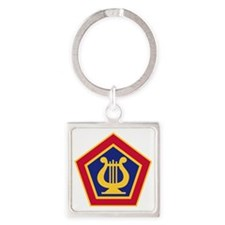 U.S Army Field Band Square Keychain