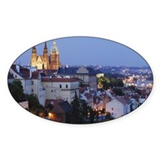 Prague Castle and St. Vitus Cathedr Decal