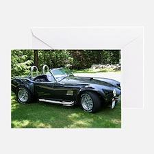 cobra sports car Greeting Card