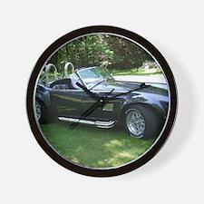 cobra sports car Wall Clock