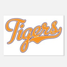 Go Tigers Postcards (Package of 8)