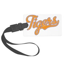 Go Tigers Luggage Tag
