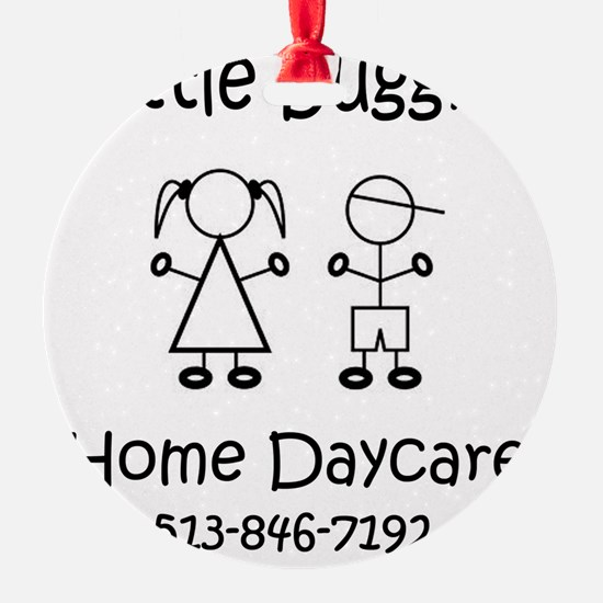 Little Buggies Home Daycare Ornament