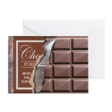 Chocolate Bar Greeting Card