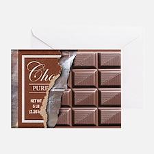 Chocolate Bar Greeting Card