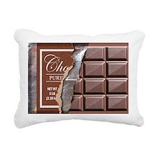 Chocolate Bar Rectangular Canvas Pillow
