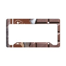 Chocolate Bar License Plate Holder