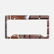 Chocolate Bar License Plate Holder