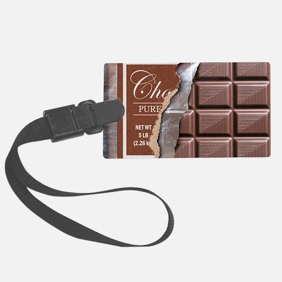 Chocolate Bar Luggage Tag