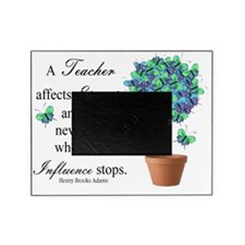 retired teacher quote BUTTERFLIES Picture Frame