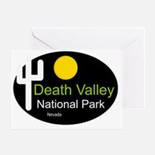 death valley national park Nevada Greeting Card