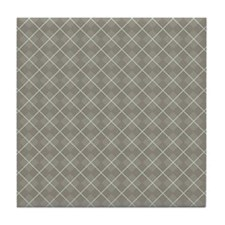 Argyle_Neutral1_Large Tile Coaster