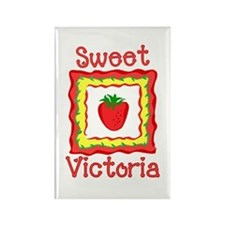 Sweet Victoria Rectangle Magnet