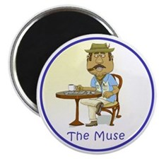 The Cuban Muse Magnet