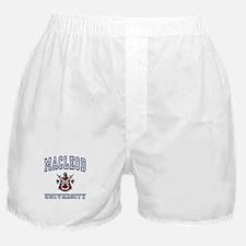 MACLEOD University Boxer Shorts