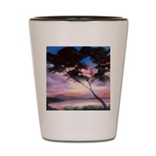 tranquility bay Shot Glass