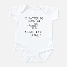 Rather...Q-Horse! Infant Bodysuit