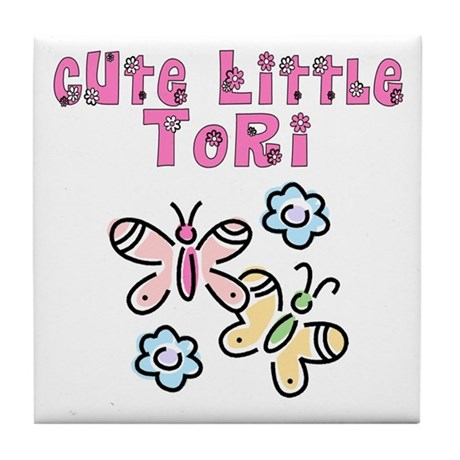Cute Little Tori Tile Coaster