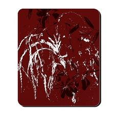 abstract maroon Mousepad