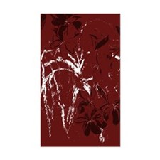 abstract maroon Decal