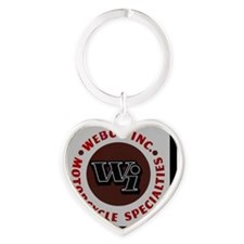 Webco Incorporated Heart Keychain