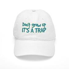 its a trap Baseball Baseball Cap