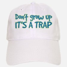 its a trap Baseball Baseball Cap