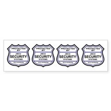 Security Alarm Stickers (Large)