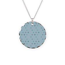 DotFlower_Blue_Large Necklace