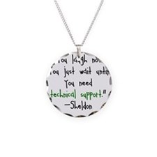Tech Support Necklace