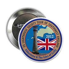 """SW England Lighthouse Tour 2.25"""" Button"""