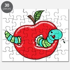 Apple and a Hungry Worm Puzzle