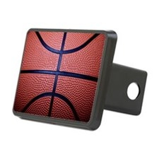 Basketball Rectangular Hitch Cover