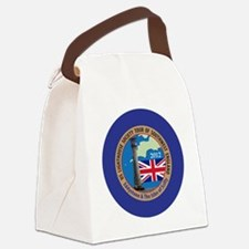 SW England Lighthouse Tour Canvas Lunch Bag