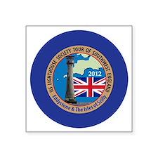 """SW England Lighthouse Tour Square Sticker 3"""" x 3"""""""