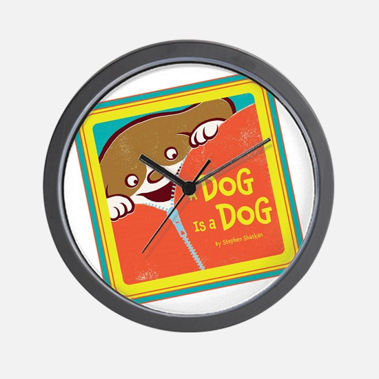 A Dog is a Dog Wall Clock